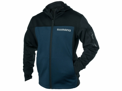 Shimano Technical Softshell Hooded Jacket Blue