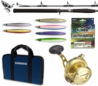 Shimano Torsa 16N Performance Jigging Kit