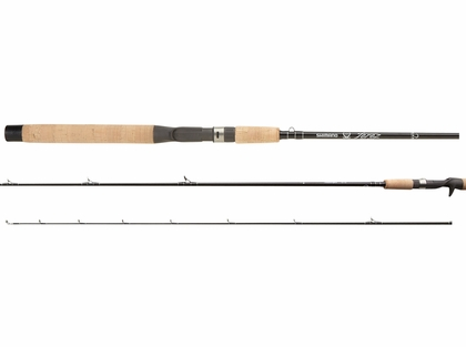 Shimano TZCWX80HBLK Black Terez Waxwing Conventional Rod