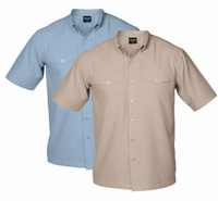Shimano Vented Short Sleeve Button Down Shirts