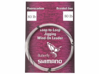 Shimano WOL060 Jigging Wind-On Leader 60lb