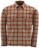 Simms PG-10103 Redwood Plaid Coldweather Shirt