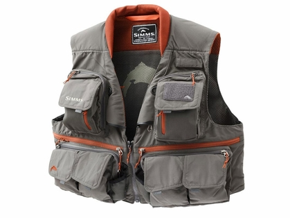 Simms PG-10356 Guide Vest Greystone