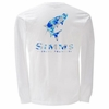 Simms Tarpon Camo White Long Sleeve T-Shirt