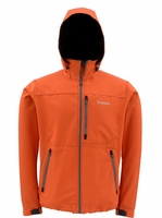 Simms Windstopper Hoody Fury Orange