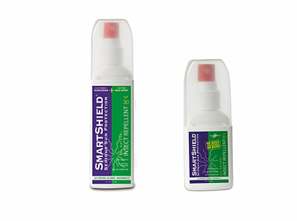 SmartShield SPF 30 Sunscreen / Insect Repellent Spray