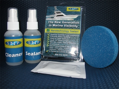 SNP Nanotechnology Sealant 2oz Kit with Cleaner