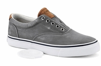 Sperry Top-Sider Salt Washed Twill Striper CVO Sneaker - Grey