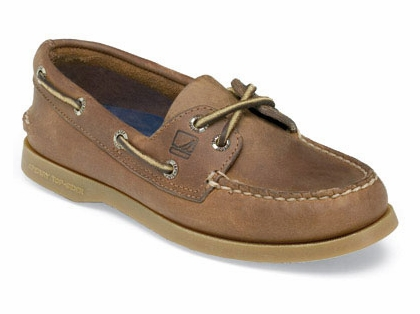 Sperry Top-Sider Women's Authentic Original 2-Eye Boat Shoe Sahara