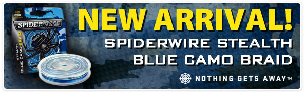 Spiderwire Stealth Blue Camo Braid