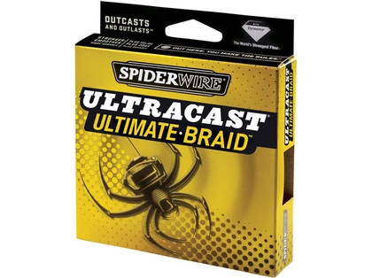 Spiderwire Ultracast Ultimate Braid 10lb-50lb 125yd Filler Spool