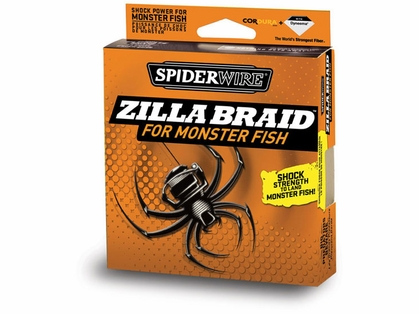 Spiderwire Zilla Braid 65lb 1500yd Bulk Spool