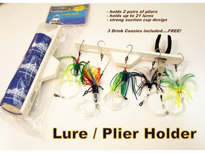 Sportfish SFP-LPH 3K Lure/Plier Holder w/ 3 Drink Koozies Accessories