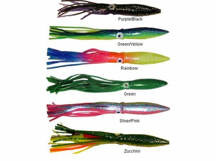 Sportfish Products 12in Rigged Sport Squid Lures