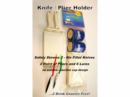 Sportfish SFP-KPH 2K Lure/Plier Holder w/ 2 Drink Koozies Accessories