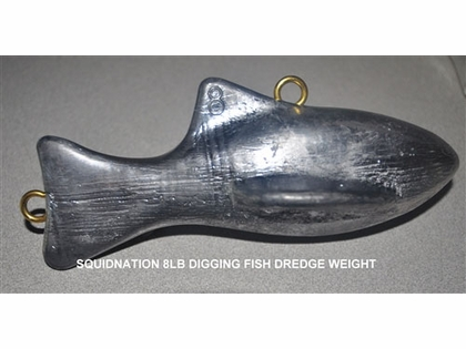 Squidnation Diving Fish Dredge Weights