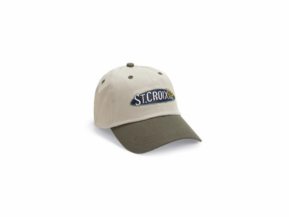 St. Croix CTKM Two-Tone Twill Logo Adjustable Strap Cap
