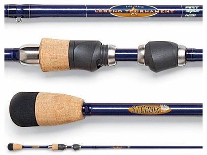 St. Croix TBS68MXF Legend Tournament Bass Spinning Rod