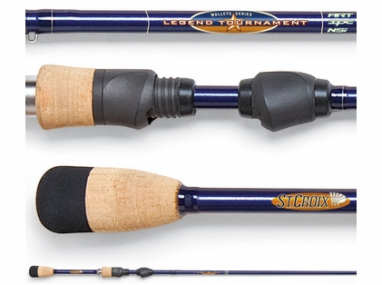 St. Croix LTWS76MLXF Legend Tournament Walleye Spinning Rod