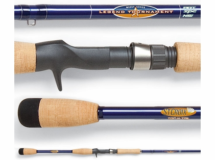 St. Croix LTMU90HF Legend Tournament Musky Rod