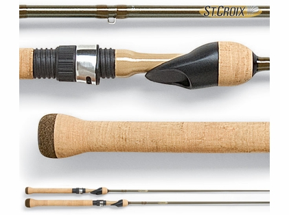 St. Croix PFS54ULF Panfish Series Spinning Rod