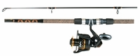 Star EXS710CT Aerial Surf Spinning Rod Reel Combo