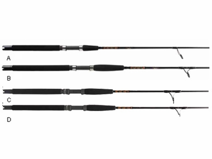Star Paraflex Spinning Boat Rods