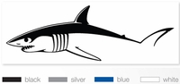 Steelfin Mako Decal Large