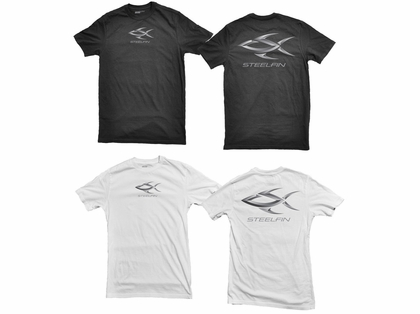 Steelfin Short Sleeve Logo Tees
