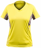 Stormr RW110W-63 Womens Short Sleeve UV Shield Shirt Hi-Vis Lime