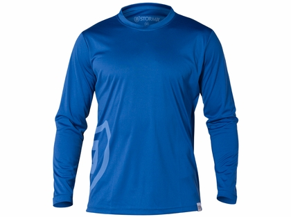 Stormr RW115M-44 Mens Long Sleeve UV Shield Shirt Blue