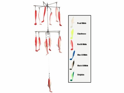 Strike Point Double Decker Rigged Shad Bar