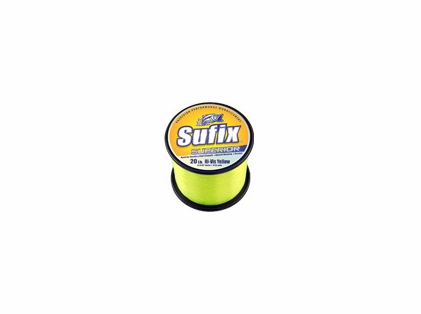 Sufix Superior 2.2lb Spool Hi-Vis Yellow