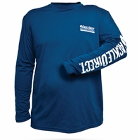 TackleDirect TD Logo Denali Performance Long Sleeve Tee