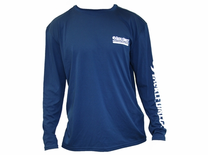 TackleDirect TD Logo Denali Performance Long Sleeve Tees