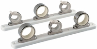TACO 3-Rod Hanger Rack, Stainless Steel w/Poly Rack - F16-2753-1