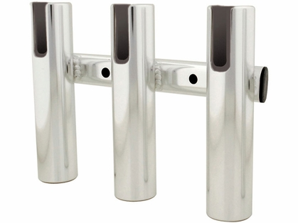 TACO Rod Holder Racks, Brushed Aluminum