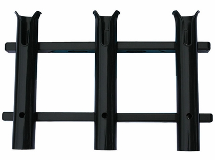 TACO 3-Rod Poly Rod Rack, Deluxe Black - P03-063B