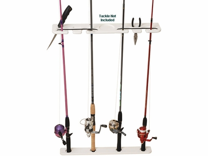 TACO 4-Rod Deluxe Pontoon Boat Tackle Rack - P03-074W