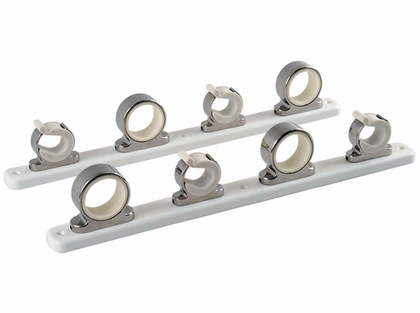 TACO 4-Rod Hanger Rack, Stainless Steel w/Poly Rack - F16-2752-1
