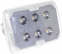 TACO LED Spreader Light w/SS Adjust. Tilt Mount, Clamp - F38-4600WHA-1
