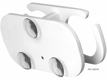 TACO Poly 2-Drink Holder w/Suction Cup Mounts - P01-2001W