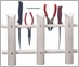 TACO 3-Rod Poly Rod Rack, Deluxe White - P03-063W