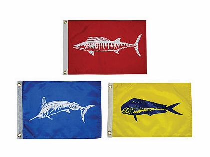Taylor Made Fish Flags