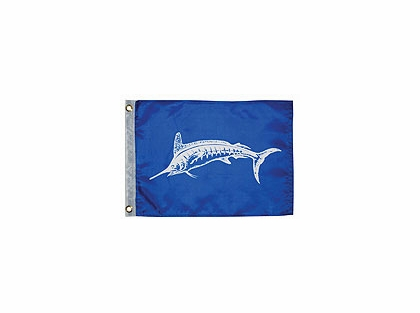 Taylor Made White Marlin Fish Flag