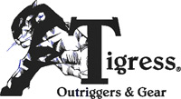 Tigress Outriggers, Outrigger Mounts, and Accessories