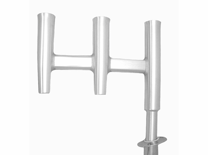 Tigress Triple Aluminum Rod Holder