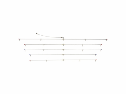 Tournament Cable Heavy Flex Charter Stainless Spreader Bar