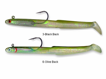 Tsunami HSE6 Holographic Sand Eel Lure