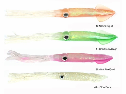 Tsunami HSQ4 Holographic Squid Lure